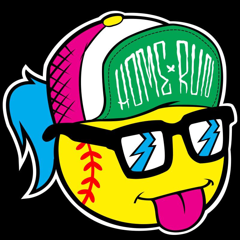 Softball T-shirt Logo